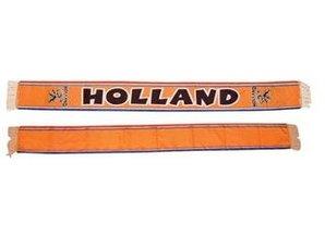 Funny Holland collectie 2017 │ Goedkope oranje fan sjaaltjes met tekst HOLLAND kopen?