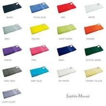 Baddoeken Sophie Muval (afmeting 70 x 140 cm, kwaliteit 450 gr/m2)