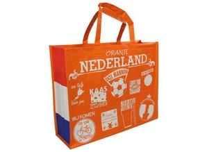 Bij ons kunt u goedkope oranje boodschappentassen kopen!