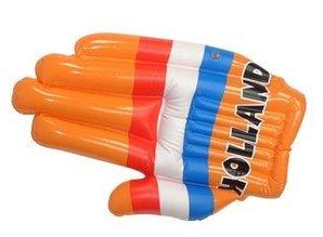 Funny Holland collectie 2018 │ Goedkope oranje opblaasbare handen bedrukt met de tekst HOLLAND kopen? Bij ons kunt u oranje opblaasbare handen bedrukt met de tekst HOLLAND kopen en direct online bestellen! Afm. onopgeblazen: 88 x 30 cm. Laat zien dat je een echte Holland oranje fan ben