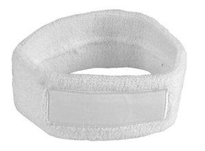 ♣ Goedkope badstof witte elastische hoofdbanden kopen? Bij ons kunt u goedkope witte hoofdbanden kopen en laten voorzien van een borduring of bedrukking van een logo, embleem en/of tekst. Onze witte hoofdbanden zijn gemaakt van badstof en zijn elastisch