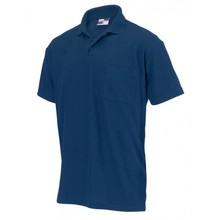 ♣ Uniseks Poloshirts voorzien van een borstzakje (kwaliteit 50% katoen en 50% polyester, polo piqué)