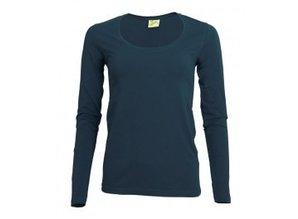 Trendy dames T-shirts met lange mouw en verlaagde ronde hals!