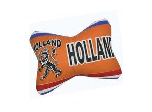 Funny Holland collectie 2017 │ Kussen met Hollandse leeuw in typische Hollandse kleuren!