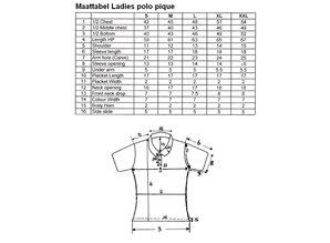 ♣ Goedkope 100% katoenen dames Poloshirts (polo pique)