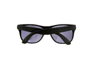 Goedkope zonnebrillen met zwart montuur (UV400 bescherming)