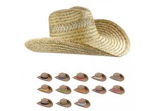 ♣ Goedkope Strohoeden met een gekleurde band kopen?