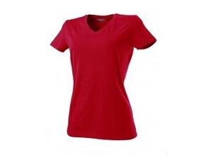Rom '88 │ Getailleerde dames T-shirts met V-neck kopen? Getailleerde dames T-shirts met V-neck, 100% gekamd katoen (190 gr/m2) kopen? Bij ons kunt u getailleerde dames V-neck T-shirts in een supermooie kwaliteit kopen en direct online bestellen! Leverbaar in de ma