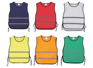 Goedkope reflecterende trainingsvesten kopen? Bij ons kunt u goedkope reflecterende trainingsvesten kopen en direct online bestellen! Verkrijgbaar in de kleuren: oranje, geel, groen, rood, wit en blauw. Maat: 1 volwassen maat (universele maat XL).