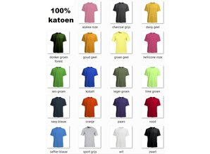 ♣ Fair Trade heren T-shirts (slank gesneden)