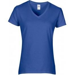 Fair Trade Dames T Shirts Met V Hals Slank Gesneden