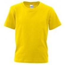 ♣ Fair Trade kinder T-shirts korte mouw en ronde hals (slank gesneden)