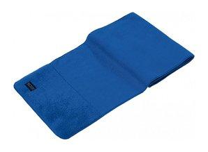 ♣ Dikke blauwe fleece sjaals (de luxe, afmeting 150 x 30 cm)