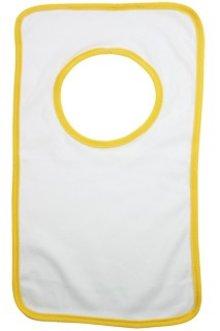 ♣ Kinder Slabbetjes (kwaliteit 220 gr/m2, cotton jersey, 1 uni kinder maat)
