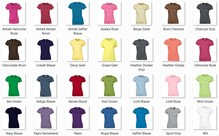 ♣ Fair Trade dames T-shirts (slank gesneden, 100% katoen, korte mouw en ronde hals)