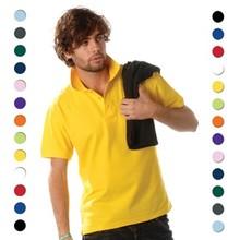 ♣ Poloshirts met borduring! 100% katoenen Poloshirts (polo pique)