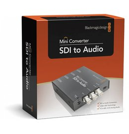 Blackmagic Design SDI to Audio