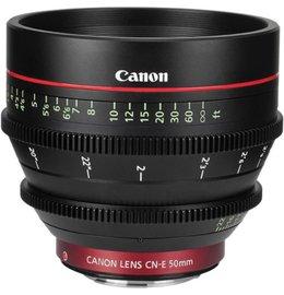 Canon CN-E 50mm T1.3 L F EF Mount Cine Lens
