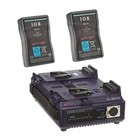 IDX ED-95/2S SIM.CHARGER & 2 ENDURA 95 D-TAP