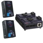 IDX ED-95/2 SEQ. CHARGER & 2 ENDURA 95 D-TAP