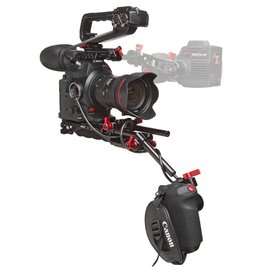 Canon C100 Mark II with Zacuto Recoil Rig
