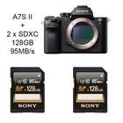 Sony A7S Mark II + 2x128GB SDXC
