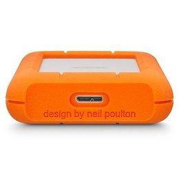 LaCie LaCie Rugged Mini - Hard drive - 4 TB - external ( portable ) - USB 3.0 - 5400 rpm
