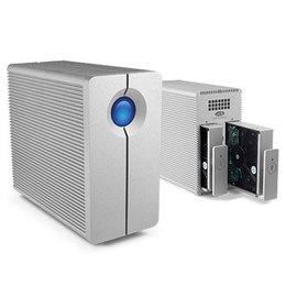 LaCie LaCie 2big Quadra - Hard drive array - 8 TB - 2 bays - 2 x HDD 4 TB - FireWire 800, USB 3.0 (external)