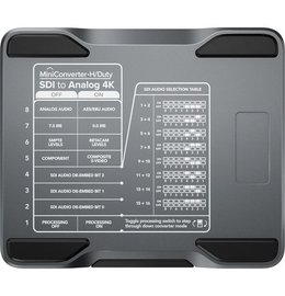 Blackmagic Design Mini Converter - Heavy Duty - SDI to Analog 4K