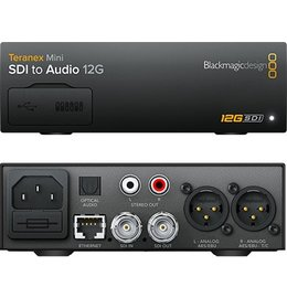 Blackmagic Design Teranex Mini - SDI to Audio 12G