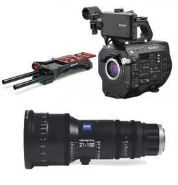 Sony PXW-FS7M2 Zeiss CZ.3 21-100 Bundle