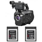 Sony PXW-FS7M2 + 2 x 128GB XQD