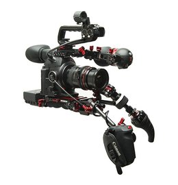 Canon C100 MKII + Zacuto Full Gratical EYE Rig