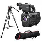 Sony PXW-FS7M2 + Manfrotto 504HD/546B