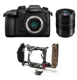 Panasonic Lumix GH5 - Leica - Zacuto Cage Bundle