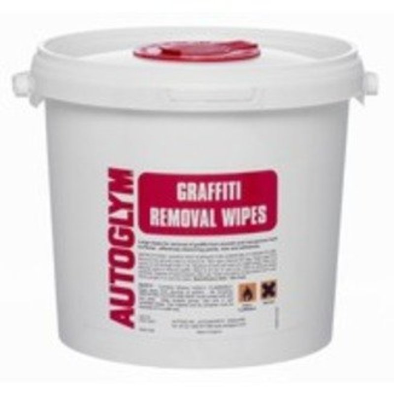 Autoglym Professional Graffiti Removal Wipes