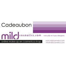 MILD cosmetics Cadeaubon • Vanaf 15 Euro