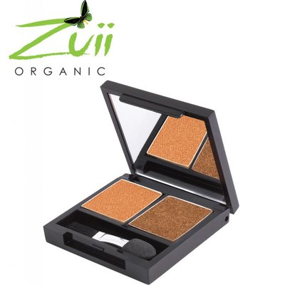 Zuii Organic Duo Eyeshadow Palette Sunset