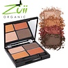 Zuii Organic Parfumvrij oogschaduwpalet Quad Fresh