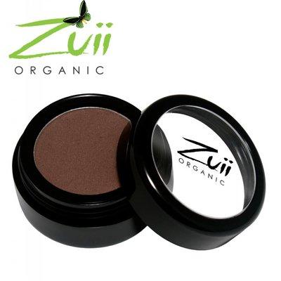 Zuii Organic Parfumvrije donkerbruine oogschaduw Raisin