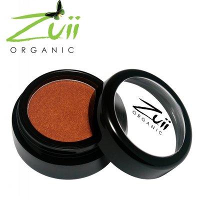 Zuii Organic Parfumvrije roestbruine oogschaduw Brownie