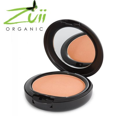 Zuii Organic Ultra Pressed Powder Foundation Nutmeg