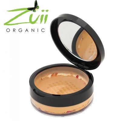 Zuii Organic Parfumvrij poederfoundation Sandstone