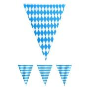 Vlaggelijn Oktoberfest blauw/wit 10 meter