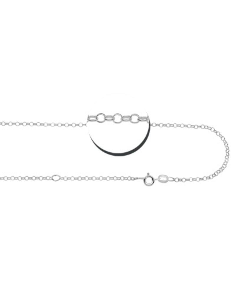 KAYA sieraden Engraved silver charm 'name, word or date'