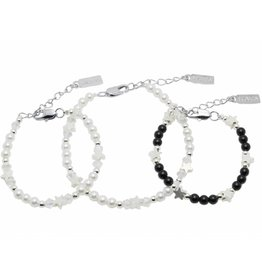 Mother-daughter-son bracelets 'Shine Bright'
