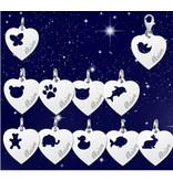 KAYA sieraden Zilveren ketting 'voornaam & lievelingsdier'