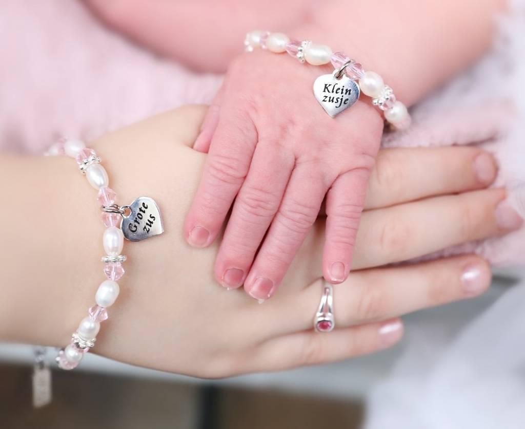 Uniek cadeau voor zusjes, sieraden om samen te dragen