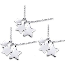 Silver Mom & Me chains 'Love you to the Stars & Back' - Copy