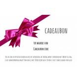Cadeaubon / Waardebon